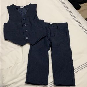 Janie and Jack Special Occassion Navy Suit